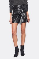 Joie Jain Faux Leather Skirt