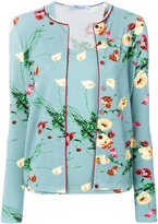 Blumarine floral twin set - women - Polyester/Spandex/Elastane/Viscose - 42