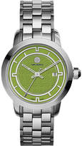 Tory Burch TRB1007 stainless steel/green watch