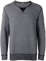 N.Peal contrast sweatshirt - men - Cashmere - S