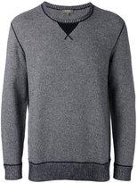 N.Peal contrast sweatshirt