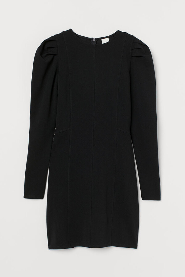 H&M Fitted Dress - Black