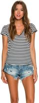 Free People Avery Short Sleeve Tee