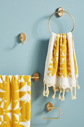 Anthropologie Elspeth Towel Bar By in Brown Size ALL