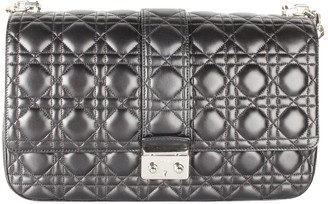 Christian Dior Miss Black Leather Handbags