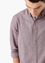 Mango Outlet Classic-Fit Cotton Shirt