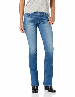 Hudson Women's Beth Mid-Rise Baby Bootcut Back Flap Pocket Jean