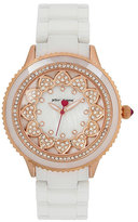 Betsey Johnson Ring Of Hearts Watch