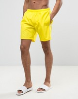 HUGO BOSS BOSS By Seabream Swim Short In Yellow