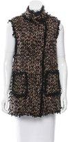 Lanvin Bouclé Wool Vest