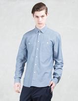 MAISON KITSUNÉ Chambray Shirt