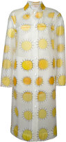 Christopher Kane allover printed sun waterproof coat - women - Polyester - 38