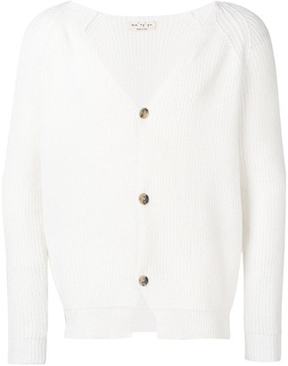 Ma Ry Ya V-neck button cardigan