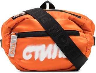 Heron Preston CTNMB print belt bag