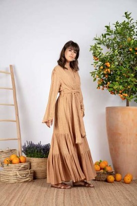 SUNDRESS Saint Barth Canyon Nataly Long Dress - M/L