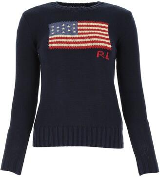 Polo Ralph Lauren Flag Intarsia Knit Jumper