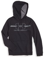 Under Armour Boy's Logo Hooded Sweatshirt
