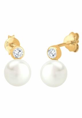 Elli Women's Earrings 925 Sterling Silver 0306552013
