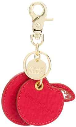 See by Chloe Apple Shaped Keychain