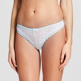 Gilligan & O Women's Lace Thong True White - Gilligan & O'Malley