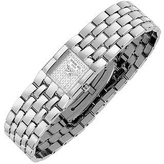 Raymond Weil Ladies' Diamond Pave Dial Stainless Steel Watch
