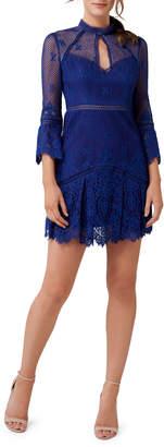 Ever New Lace Flip Mini Dress