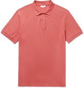 Sunspel Slim-Fit Pima Cotton-Piqué Polo Shirt