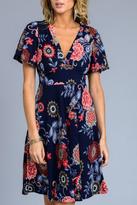 Gilli Floral A-Line Dress