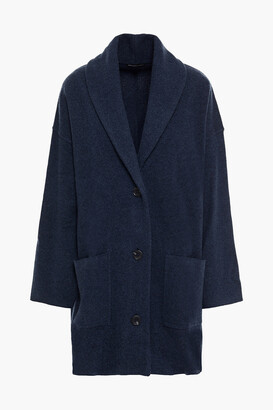 James Perse Oversized Wool And Cashmere-blend Cardigan