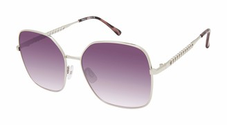 Vince Camuto Women's Vc953 Mod UV Protective Metal Square Sunglasses | All-Season | A Gift of Standout Style 60 mm