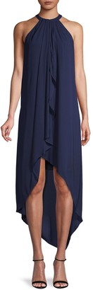 BCBGMAXAZRIA High-Low Shift Dress