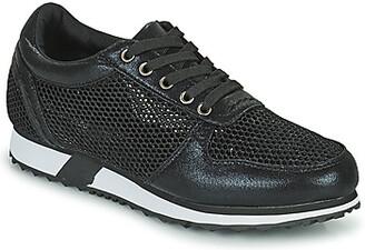 Elue par nous EPUISE women's Shoes (Trainers) in Black