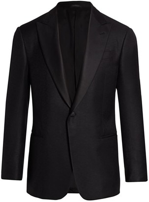 Giorgio Armani Single-Button Blazer