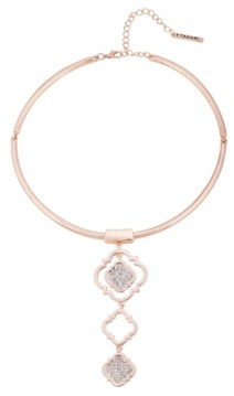 T Tahari Moroccan Metals Collar Necklace