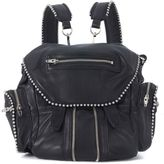 Alexander Wang Mini Marti Black Leather Backpack With Studs