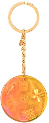 Chanel Pre Owned 1997s Aurora iconic charms key holder