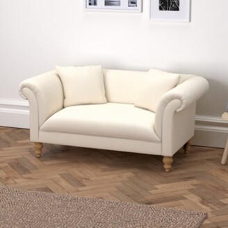 The White Company Earlsfield Cotton Sofa, Pearl Cotton, One Size