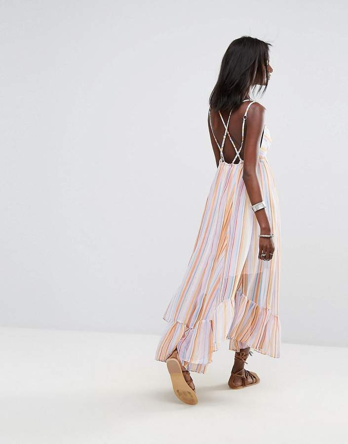Free People These Days Tiered Maxi Dress