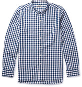 Nonnative - Dweller Button-down Collar Gingham Cotton-blend Shirt