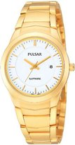 Pulsar Uhren PH7256X1 - Women's Watch, Gold Tone