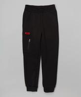CB Sports Black & Red Zip Pocket Sweatpants - Kids & Tween