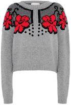 Stella McCartney lace intarsia jumper