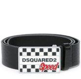 DSQUARED2 Speed buckle belt