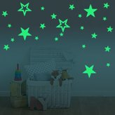 Amaonm® Glow In The Dark Stars Wall Decals Removable Vinyl Luminous Star Wall Stickers Murals Home Art Decor for Kids room Boys Girls Bedroom Ceiling Playroom Studyroom Decorations (Stars)