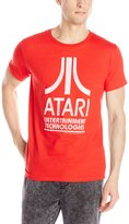 Atari Men's Logo Distressed T-Shirt