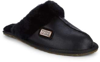 Australia Luxe Collective Shearling & Suede Slippers