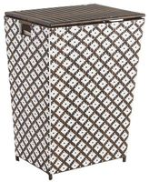 Pier 1 Imports San Martin Brown Wicker Laundry Hamper