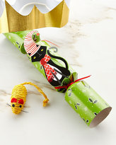 Caspari Whimsy Cat Toy Christmas Cracker, Each