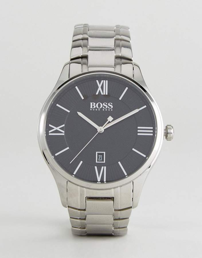 HUGO BOSS Boss By 1513488 Governor Bracelet Watch In Silver