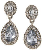 Carolee Crystal Teardrop Earrings